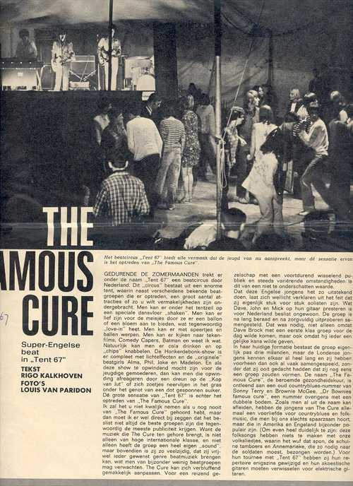 The Famous Cure (pre-Hawkwind) Hollandse toer 1967