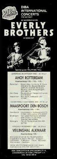 Everly Brothers in Alkmaar